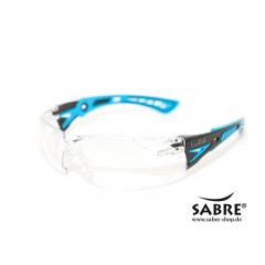 Bolle - Rush+ - Clear PC-Lens - Gestell schwarz / blau