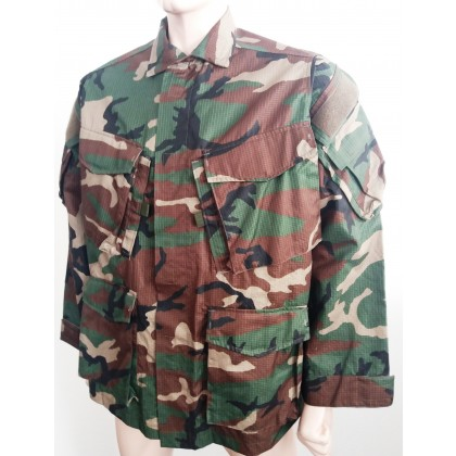 Special Forces Shirt, Woodland Niederlande Marines size L